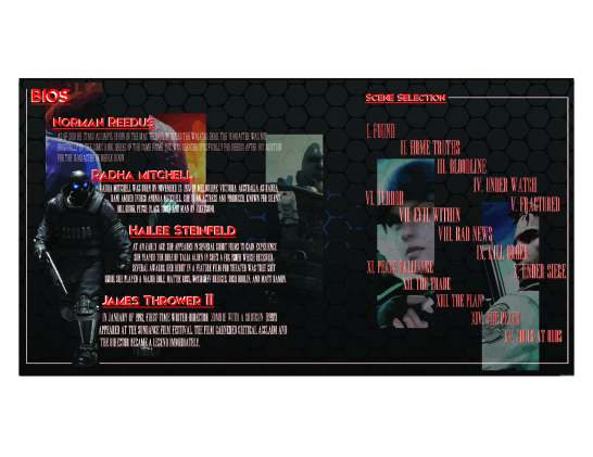 DVD booklet interior