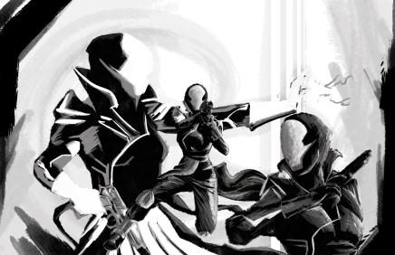 Warlock Concept Art