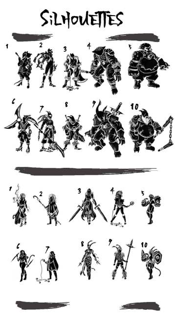 Character Silhouettes