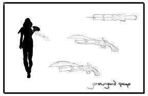 Antagonist Prop refinement