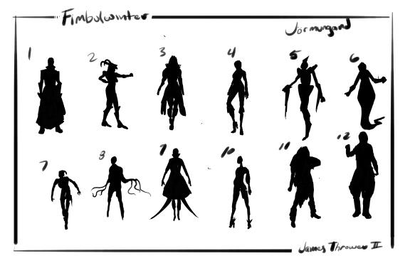 Female Antagonist (Jormundgan) Thumbnails