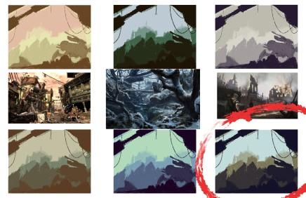 Enviroment Color Study