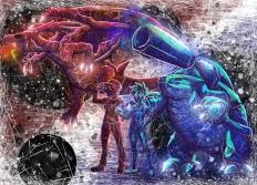 Pokemon Red & Blue Illustration