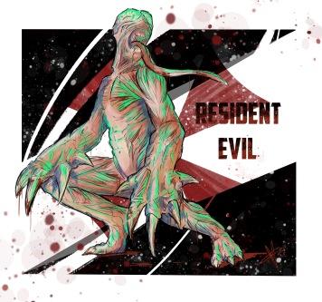 Resident Evil Licker