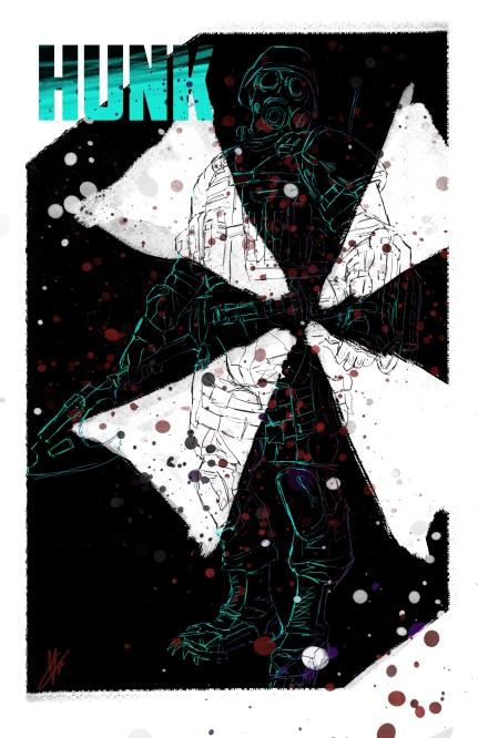 Resident Evil Hunk Umbrella Corps