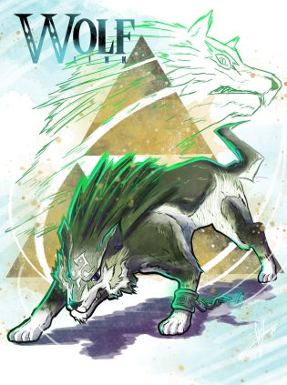 Twilight Princess Wolf Link