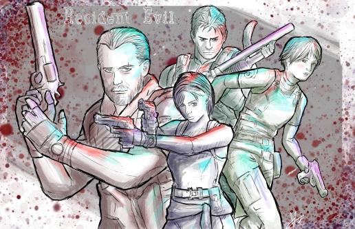 Resident Evil series Illustration