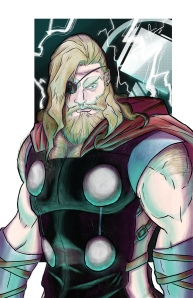 Thor Cover Illustration