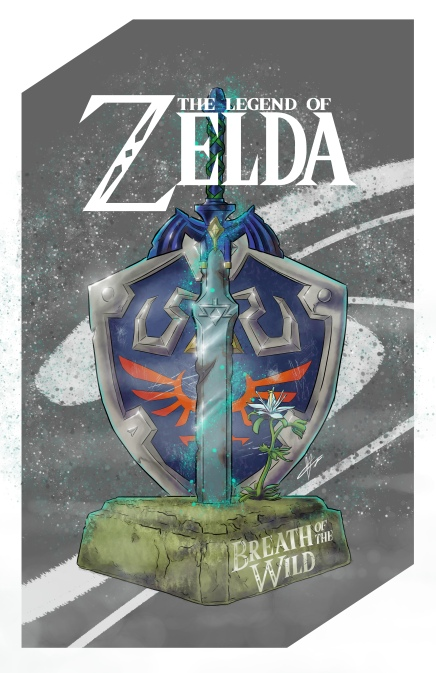 Zelda shield sword no enviroment