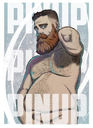 bear pinup 22