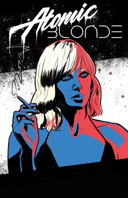 Atomic Blonde Graphic concept